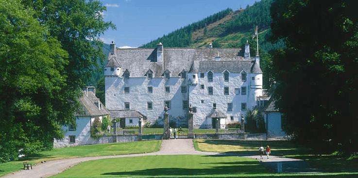 alojarse castillo escoces