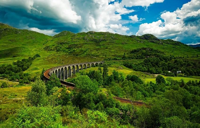 rutas en tren por escocia