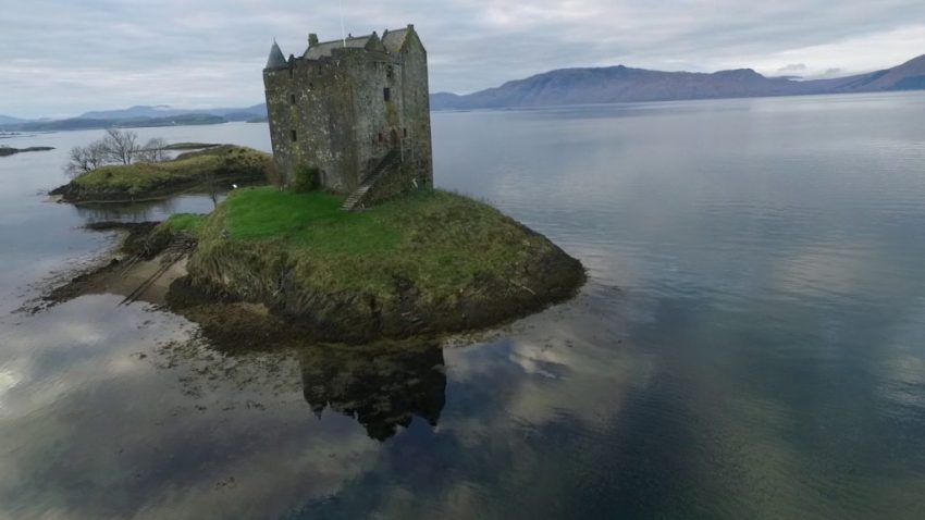 lugares de Escocia que aparecen en una película