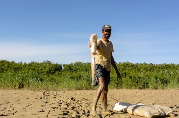 La pêche dans la rivière de Medjerda: des dizaines de familles en dépendent