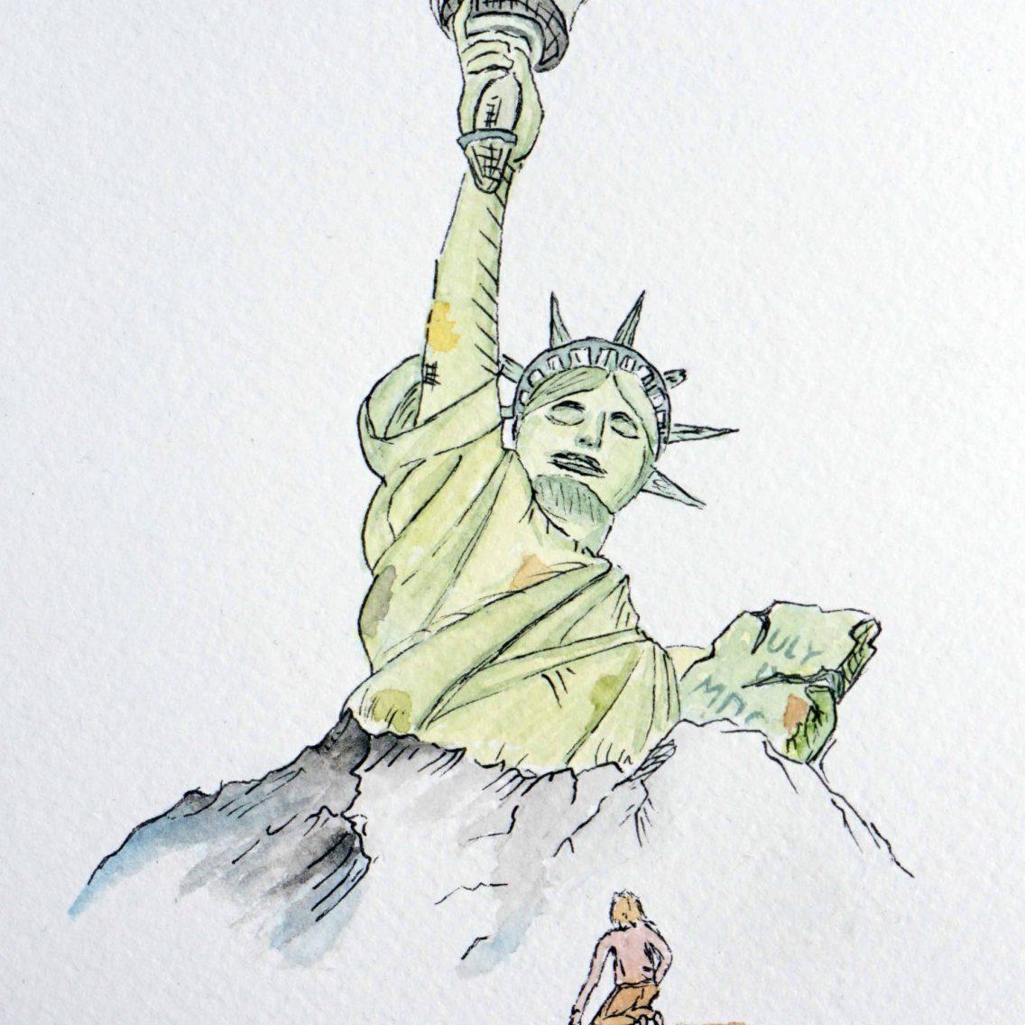 2021 - 4. Fall of Liberty