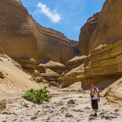 Lost Canyon Ica Peru