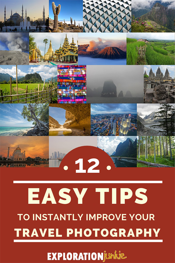 Travel Photography Tips Pinterest Image