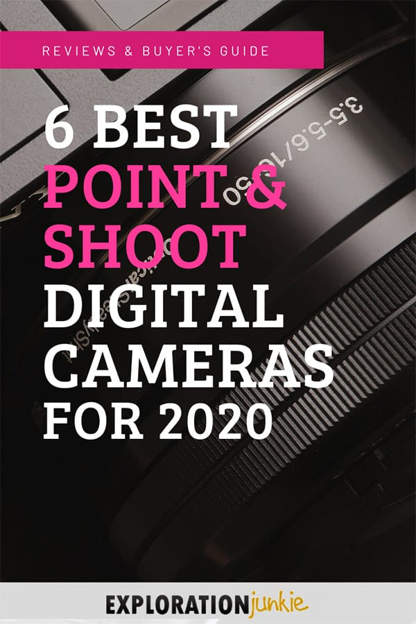 Best point & shoot cameras Pinterest image