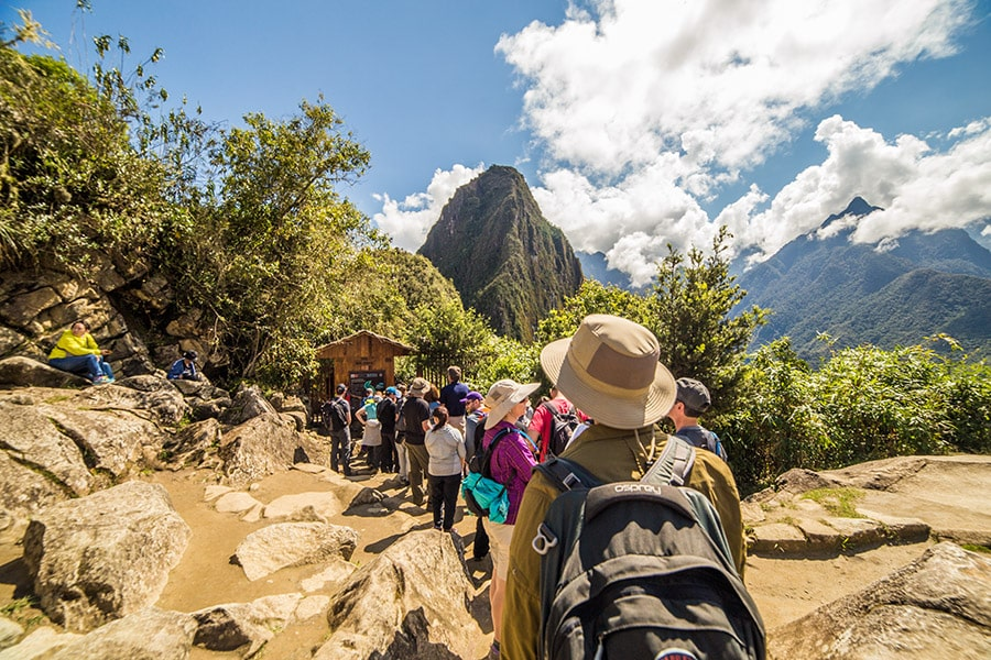 Huayna Picchu Hike Start