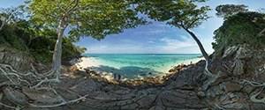 Krabi, Bamboo Island