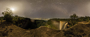 Kaieteur Falls by Night