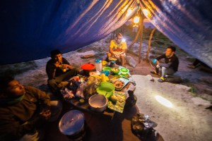 Base Camp Dinner