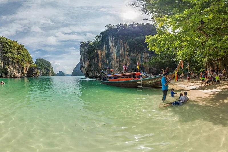 Lading Island Krabi Thailand