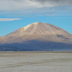 Salar de Chiguana and Ollagüe Volcano