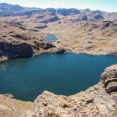 Cerro Tunari Hike way down