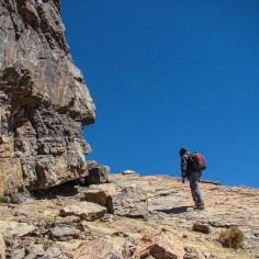 Cerro Tunari Hike way up