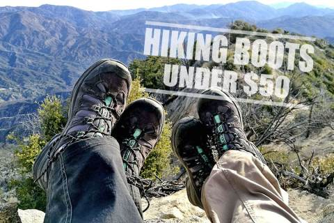 Best Hiking Boots Under 50 dollars