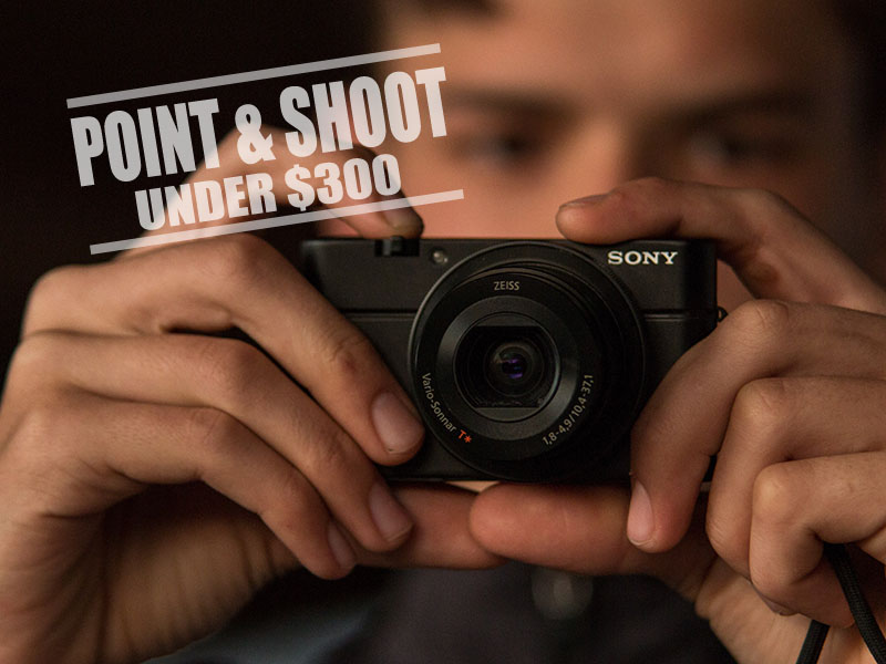 Best point and shoot cameras under 300 - thumb