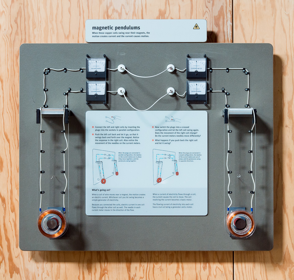 hight resolution of magnetic pendulums magnetism electricity science activity exploratorium teacher institute project