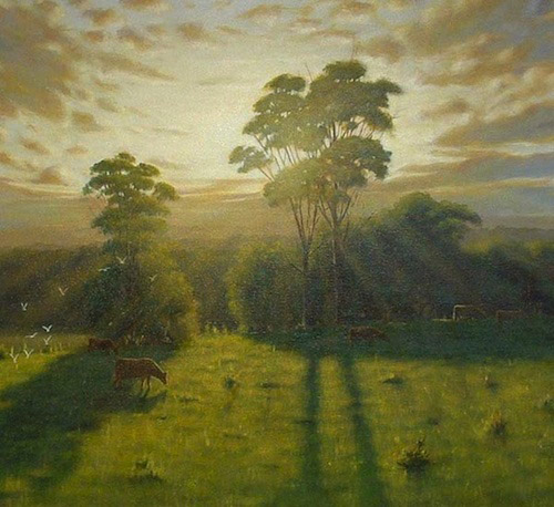 Create Light Filled Landscapes With Mark Waller S Acrylic Painting Tutorial Page