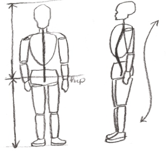 Learn to draw people with the correct anatomy and proportions