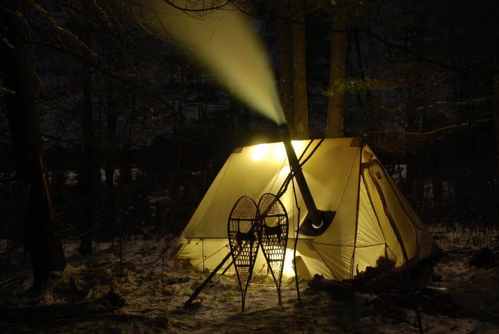 The Happy Camper Winter Hot Tenting Safety Explore Magazine