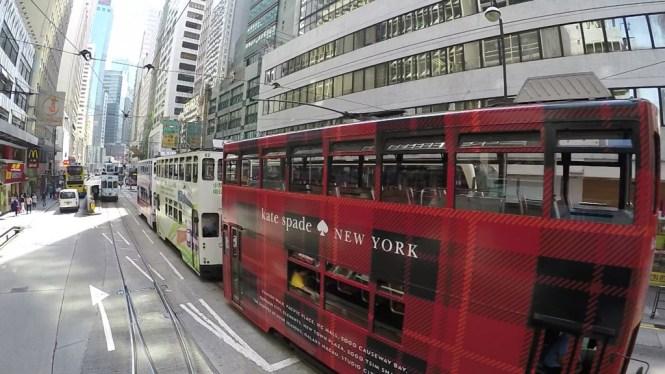 Doppeldecker Tram Hong Kong