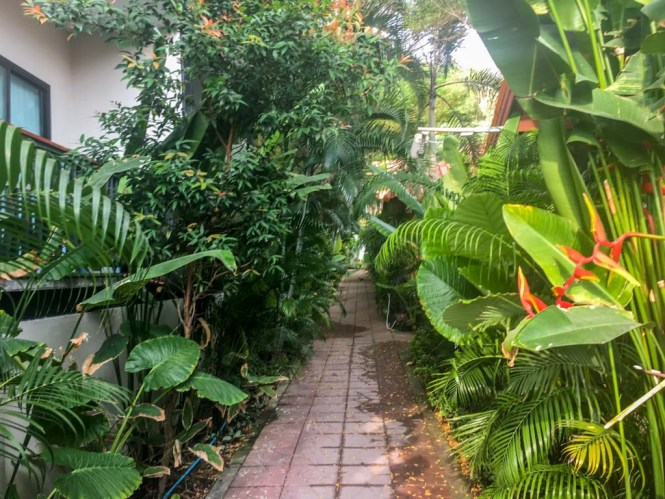 Eingang Ricci House Resort