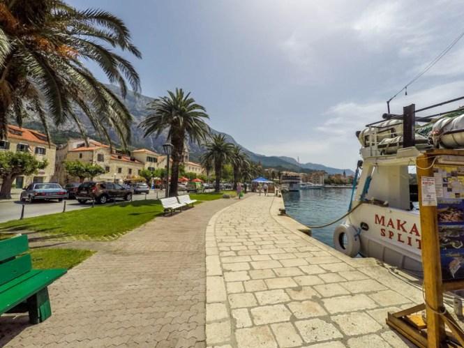 Kroatien Roadtrip:Hafen von Makarska