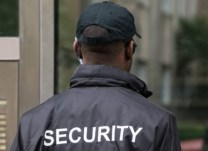uniformed security guard