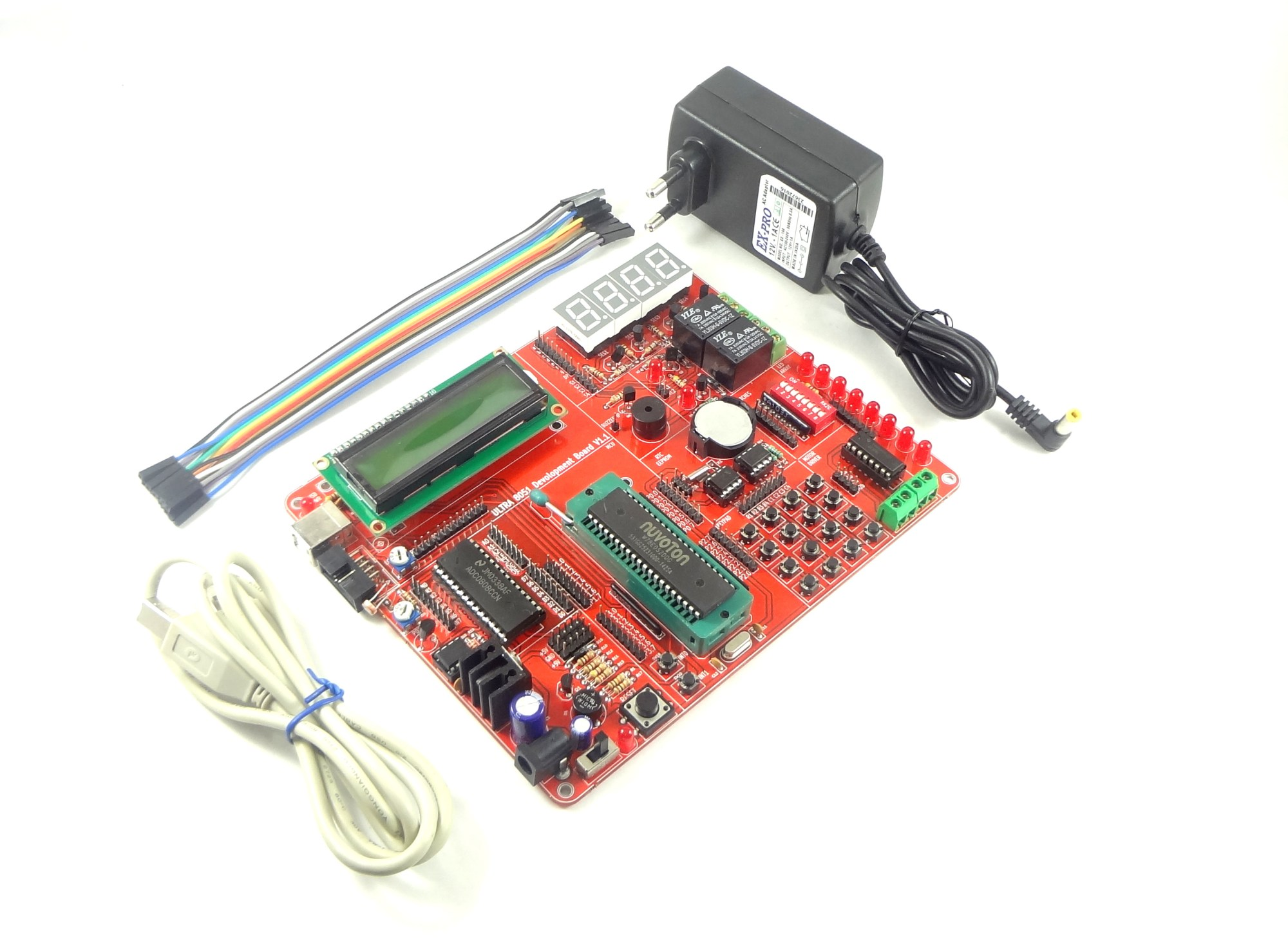 hight resolution of 8051 development board ultra x51 add to cart