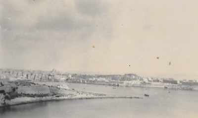 Valetta Harbour, 1933