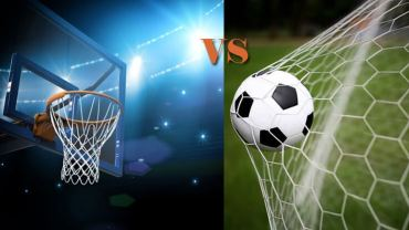 basketball vs soccer