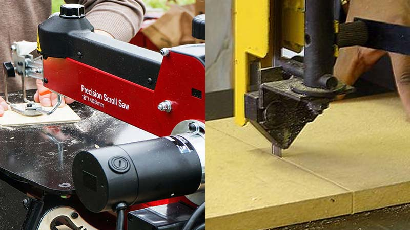 How Does A Scroll Saw Differ From A Band Saw