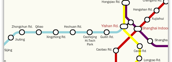 New connection at Yishan Road