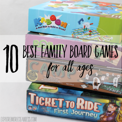 10 Best Family Board Games for All Ages
