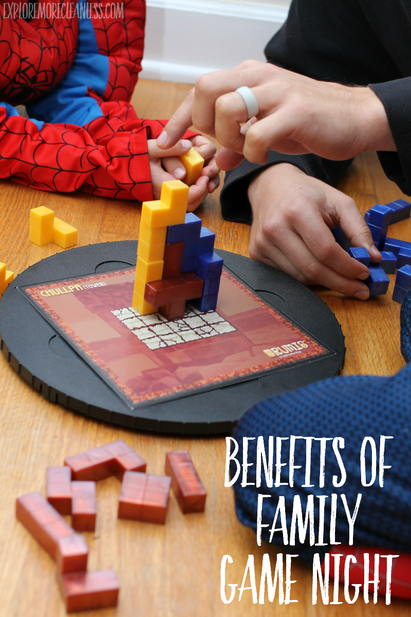 reasons to play board games with kids