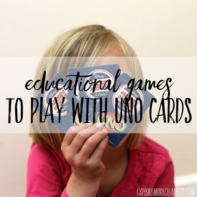 Games to Play with Uno Cards