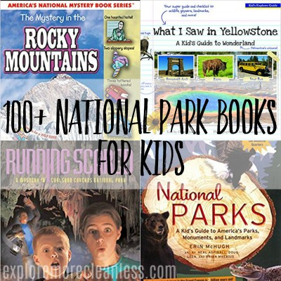 National park books for kids