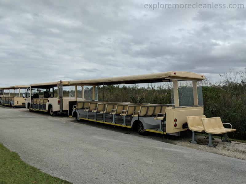 shark valley trams