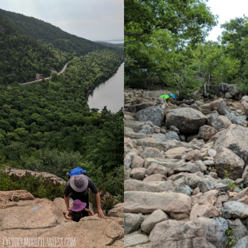 south bubble trail acadia kids