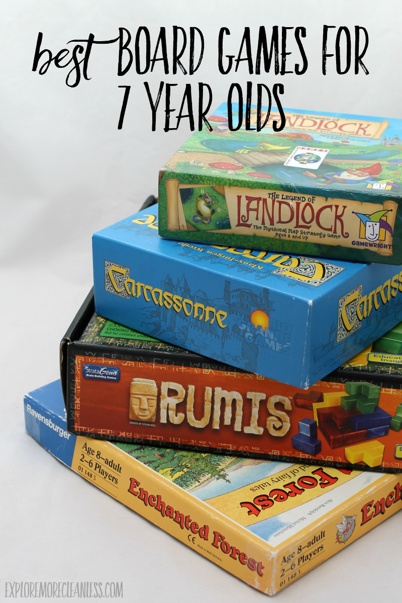 7 year old board game recommendations