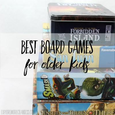 Best Board Games for Older Kids