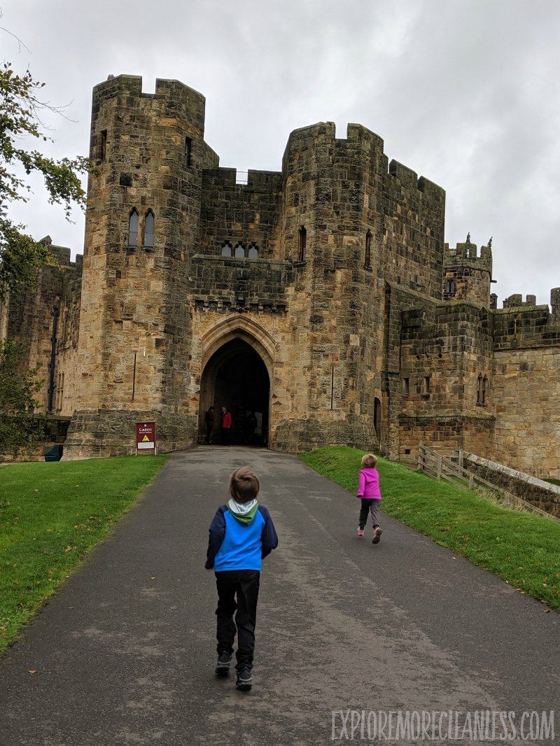 best english castle for kids