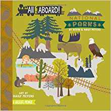 national parks baby board book