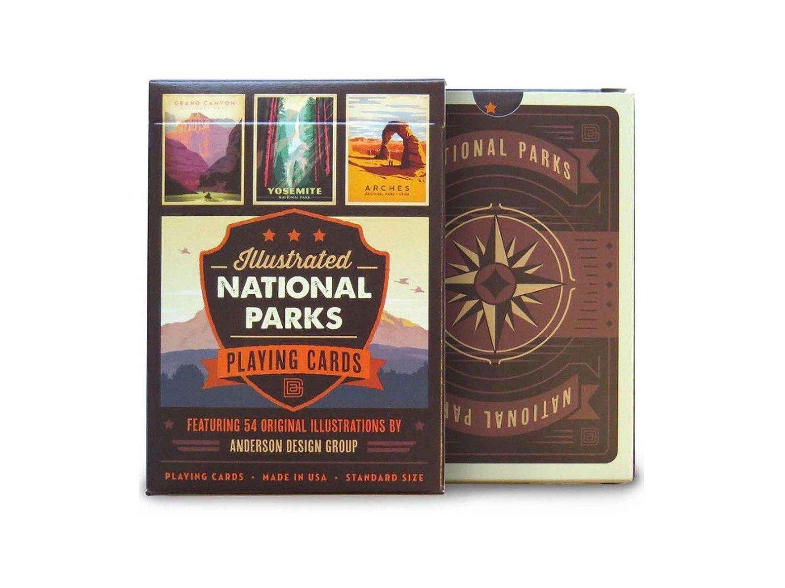national parks cards