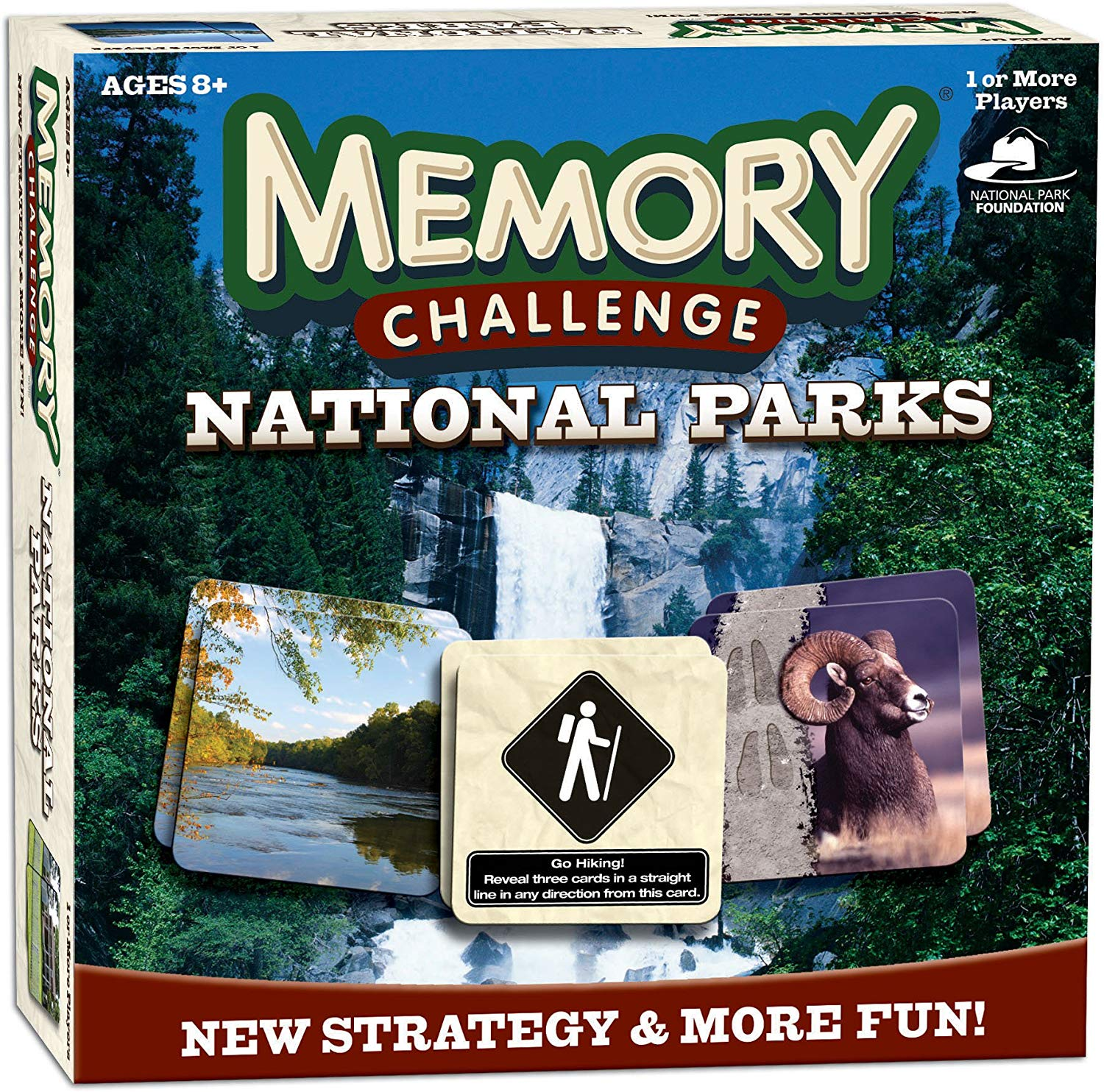national parks memory game