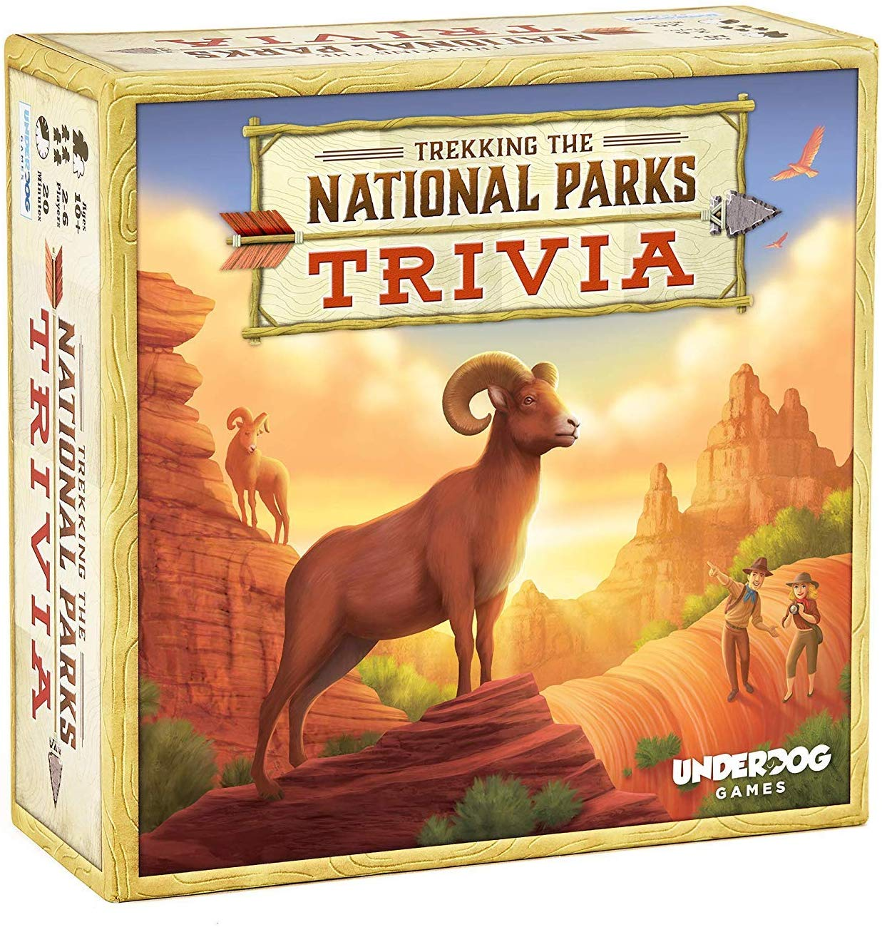 national parks trivia game trekking