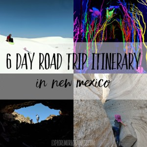 6 Days New Mexico road trip with kids