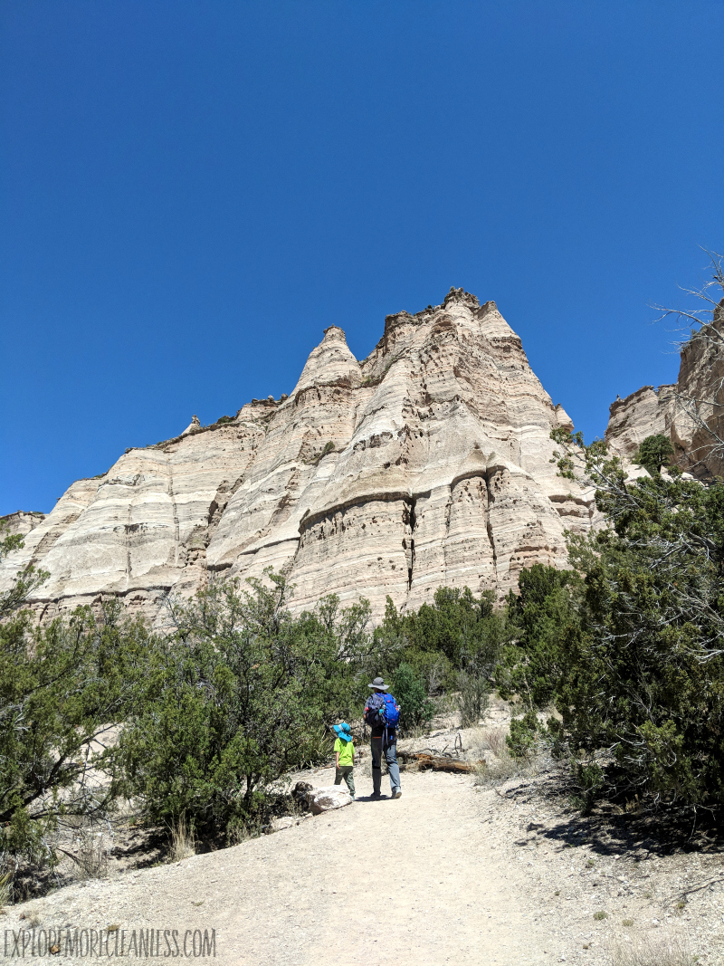 hiking tent rocks new mexico