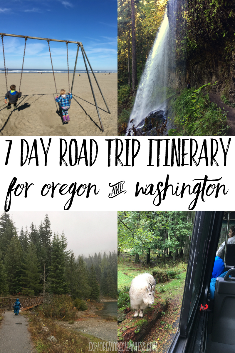 PNW road trip with kids