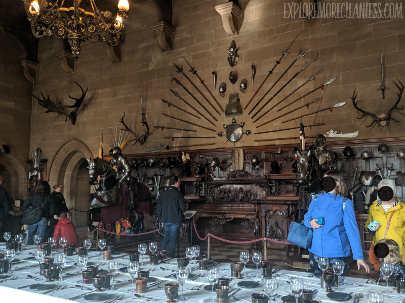dining hall warwick castle