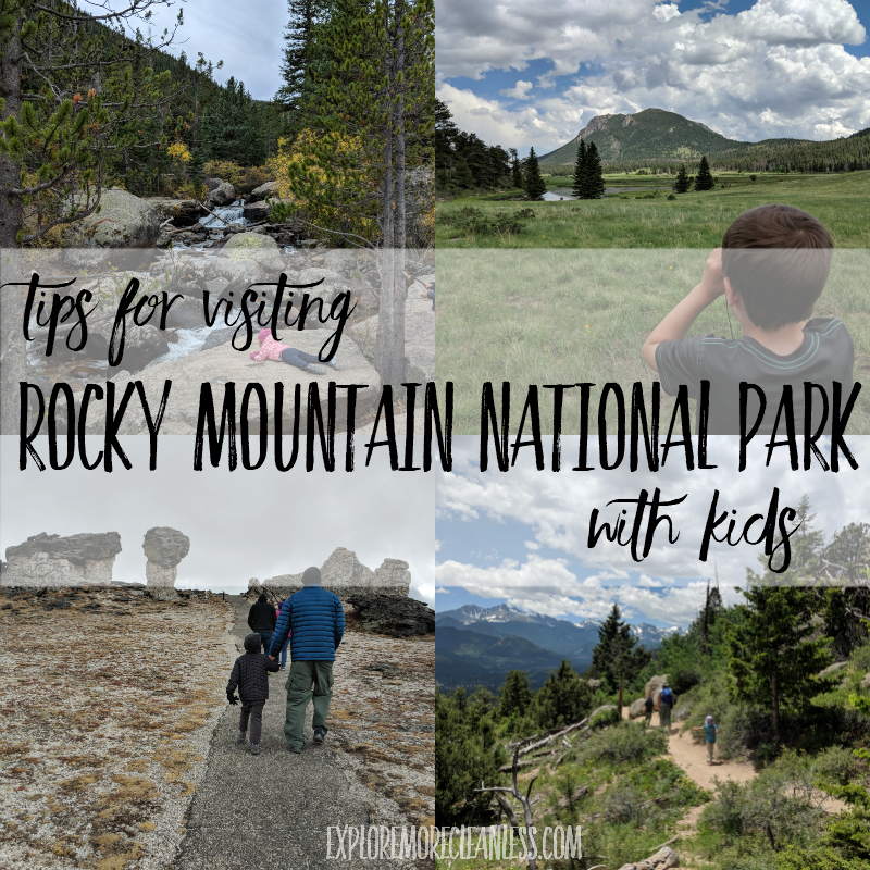 Tips for rocky mountain national park with kids