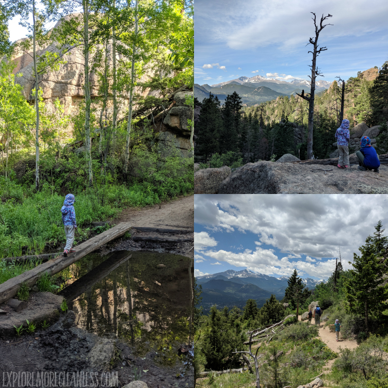 lumpy ridge hike rmnp kids